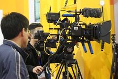 Redrock at 2011 China P&E (redrockmicro) Tags: china taiwan gear redrock filmmaking tradeshow rigs redrockmicro hdslr