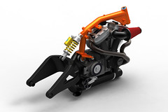 BOTT XR-1 chassis (bottpower) Tags: design 3d render chassis buell flattrack bottpower bottxr1