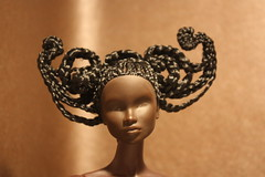 A butterfly emerging (em`lia) Tags: hair doll it fr mb braid nadja integrity atlasmoth updo nf insectopia emlia emiliacouture