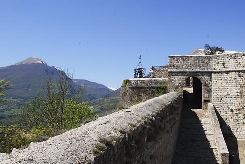 Civitella del Tronto - fortress (4)