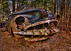 Grrrrrrrrrrrrowl.......... (KvonK) Tags: hdr mcleans rust oldcar antique kvonkhdr tokina11mmto16mm28 nikond300s wideangle tripod