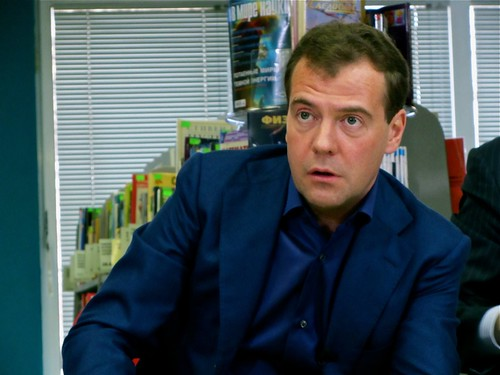 Dmitry Medvedev. Image by Flickr user Gregory Asmolov (CC BY-NC 2.0).