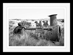Rusting Beauty (Visual Clarity Photography) Tags: autumn bw fall grass nikon rust decay au engine rusty australia adobe april tasmania sep tas nikkor waratah boiler steamengine hoya lightroom neutral gp1 2011 uvfilter sep2 cs5 capturenx niksoftware d700 tonalcontrast uv0 galleryprint darkenlightencenter 2470mmf28ged removecolorcast capturenx2 niksilverefexpro nikkor2470mmf28ged photoshopcs5 colorefexprocomplete30 nikcolorefexprocomplete30 superhmcpro1 silverefexpro2 lightroom33 pc7321 7009239gallery