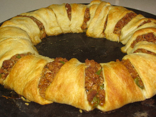 Lightened Up Pampered Chef Taco Ring