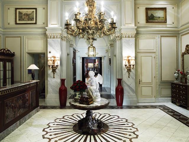 ホテル ザッハー ウィーンのオススメポイント:ロビー