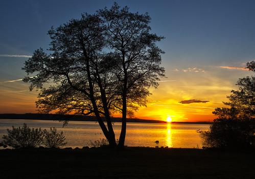 Sunset at Furesøen, I