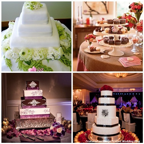 Wedding Cake Table Decorations Ideas