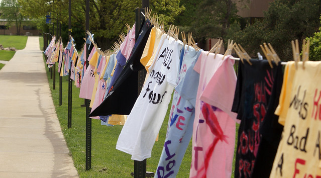 clothesline project 2011