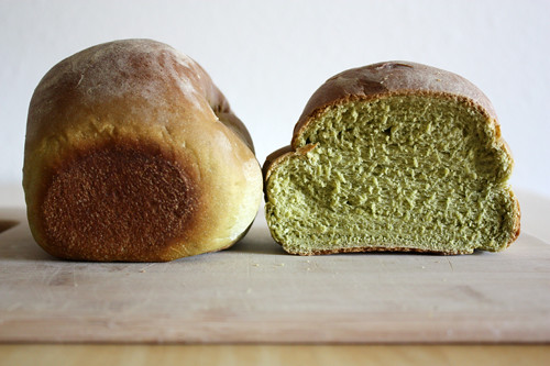green tea mini loaves.
