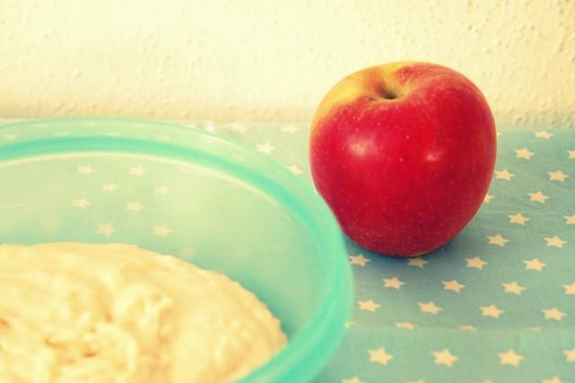 Apfel-Mus.
