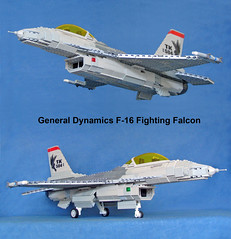 F-16 (John Lamarck) Tags: plane fighter lego general jet f16 falcon dynamics