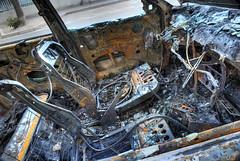 un jour sans (Mathieu Muller) Tags: car crashed voiture burnt brl fusion destroyed hdr cpl intrieur habitacle tonemapping carbonis dystopic dtruit dystopie dbrit dystopique mathieumuller