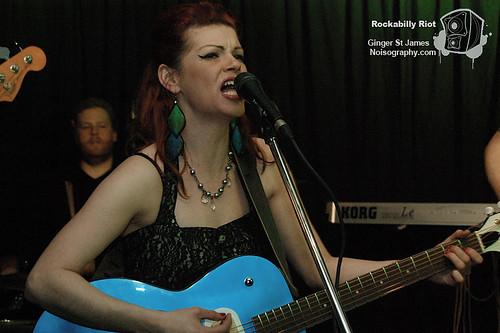 Ginger St James - Rockabilly Riot - April 30th 2011 - 08