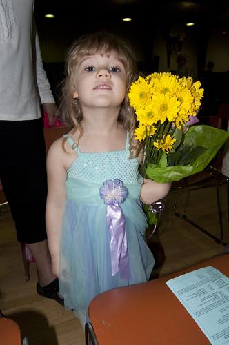 Ella & her flowers