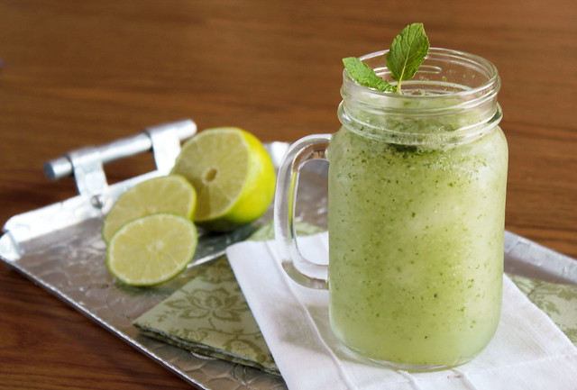 Minted Lime Licuado