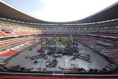 Cuarto día de montaje - Estadio Azteca 27