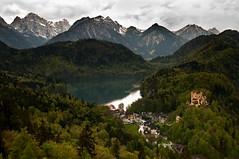 Schwangau (Rafavet) Tags: paisajes alpes nikon alemania schwangau sigma1770 d300s hohenswchangau castilosdelreyloco