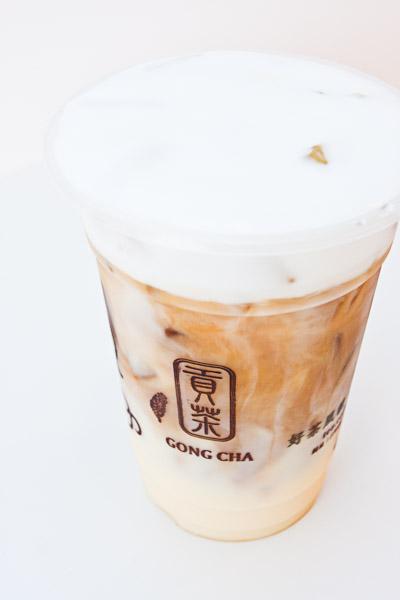 Gong Cha Caramel Milk Coffee