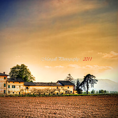 Cascina Maccagno - HDR - (Margall photography) Tags: canon landscape photography 28mm m42 marco cuneo f28 hdr 30d cascina soligor galletto maccagno margall