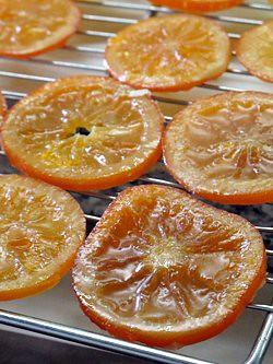 candied oranges