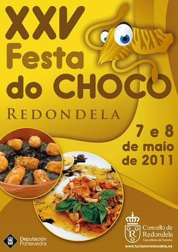 Redondela 2011 - Festa do choco - cartel