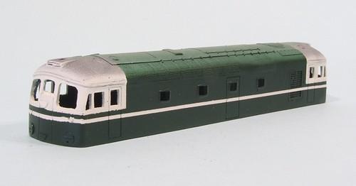 Class 26 body - green