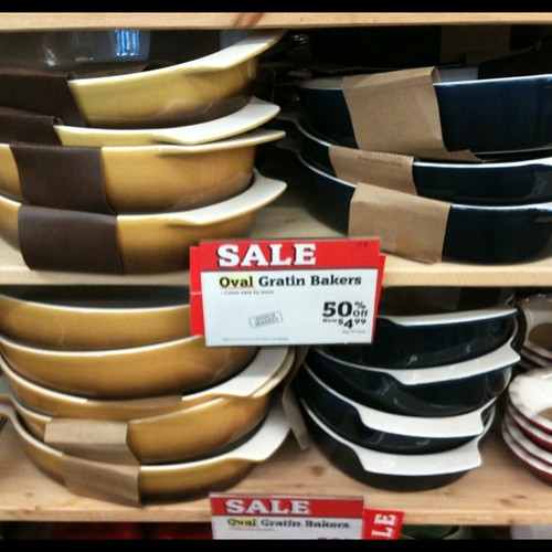 Sale at World Market.