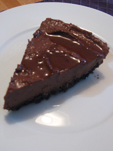 Cherry-Chocolate Mousse Pie