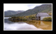 Boat House 2 (shashin62) Tags: mountain lake tasmania tassie boathouse nationalgeographic cradlemountain mygearandme