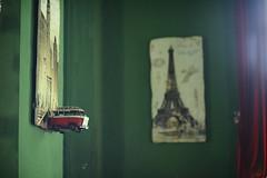 Paris, i am coming (ngaymua) Tags: paris color green interior capital halo vietnam hanoi minibus barbetta d700