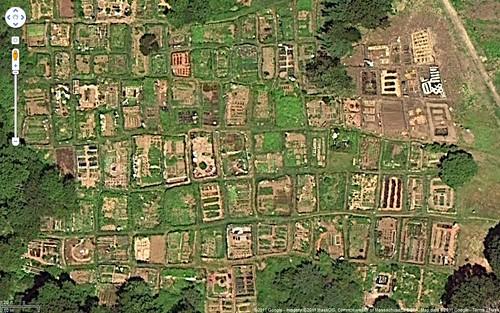 Skippys Vegetable Garden google earth image of the belmont