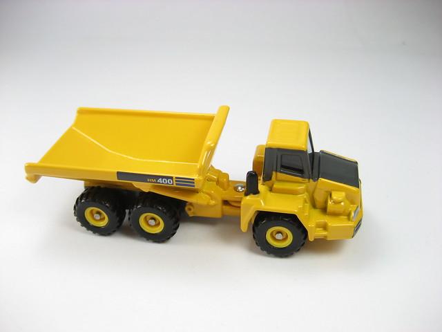 Tomica Komatsu Articulated Dump Truck