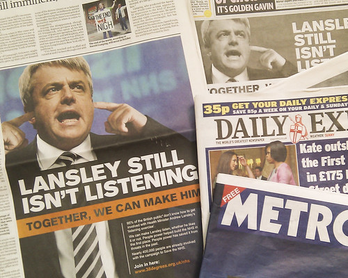 NHS Ads: Lansley Still Isn't Listening