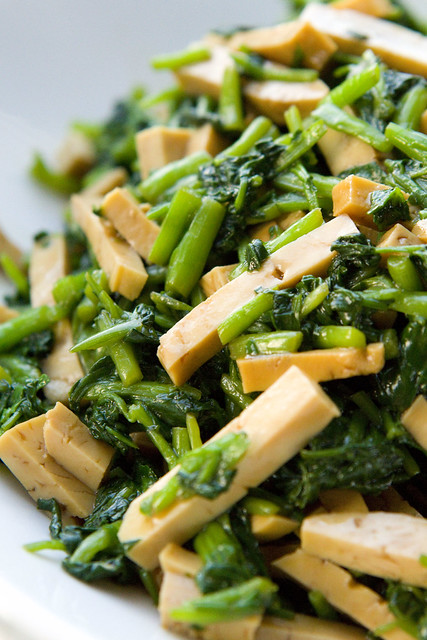 Bean Curd and Watercress Salad 3