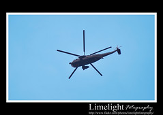 Helicopter (Limelight Fotography) Tags: blue sky fly flying wings helicopter