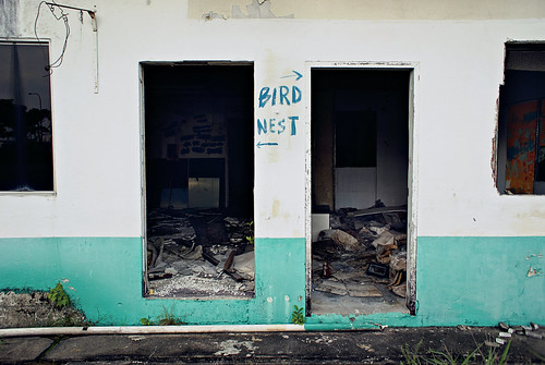 Abandoned side building, Old Kallang Airport
