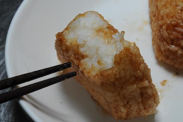板烤醬油飯糰