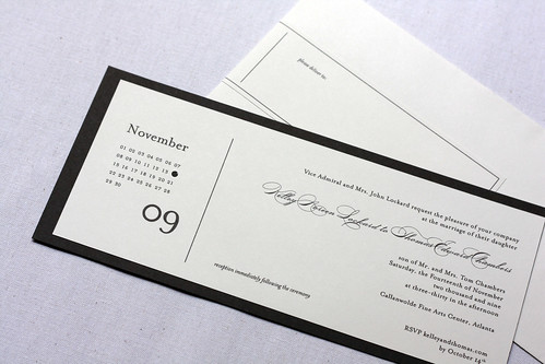 Kelley + Thomas' Wedding Invitation(s)