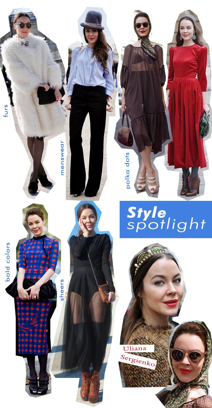 Style Spotlight: Uliana Sergienko