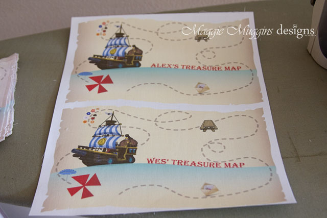 Treasure Map Just Printed