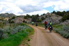Utah Bicycle Tour Day 2 (Doug Goodenough) Tags: bicycle bike cycle ride gravel dirt pavement utah cliffs route utahcliffsroute adventure cycling southwest 2011 11 may june touring tour doug goodenough douggoodenough jen scott steve will drg53111p drg53111putah drg53111putah2 desert duck valley pine drg531