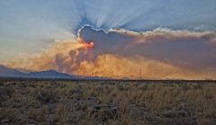 Holy Spirit (Steven Maguire Photography) Tags: sunset arizona southwest skyscape landscape fire 2011 cochisecounty chiricahuamountians horseshoefire2