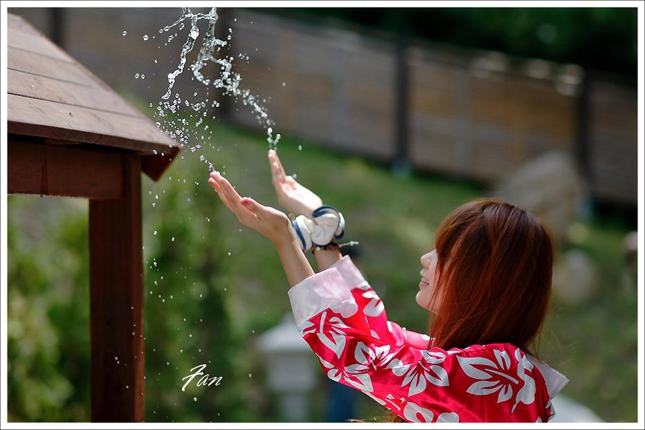 絲絲東洋風  浴衣在淡水