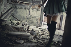 "Alice in My Veins - Teaser ""Alice"" [ Explore ] (Franck Tourneret) Tags: hauntedhouse aliceinwonderland maisonhante aliceaupaysdesmerveilles issanka aliceinmyveins"