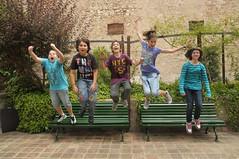 Llibre de salts (Jump Book) (Museus Dal) Tags: espaa jump spain catalunya gala espagne figueres catalua dal salts figueras catalogne halsman