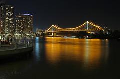 Golden Gate  -  Story Bridge Brisbane Queensland Australia (S@ilor) Tags: ocean bridge focus pacific australia brisbane story pacificocean goldengate queensland mignon oceania timebridge silor bestofblinkwinners storybridgequinslandaustralia