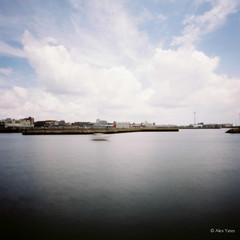 Set sail with Zero (The Old Penfold) Tags: 120 6x6 film mediumformat iso100 suffolk pinhole squareformat fujifilm analogue zeroimage lowestoft zero69 fujireala100 reala100
