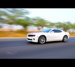 Camaro SS (Faisal | Photography) Tags: white canon eos is ef 18200mm 50d canoneos50d chevroletcamaross canonefs18200mmis faisalali  panninig