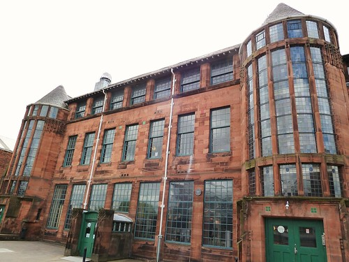 Scotland St School by Mackintosh