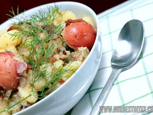 Finished German Potato Salad